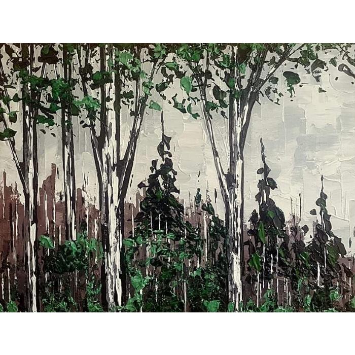 """Vert Forêt 10.5""""x13.5"""""""